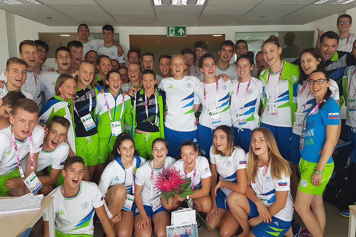 Uspešna mlada slovenska reprezentanca