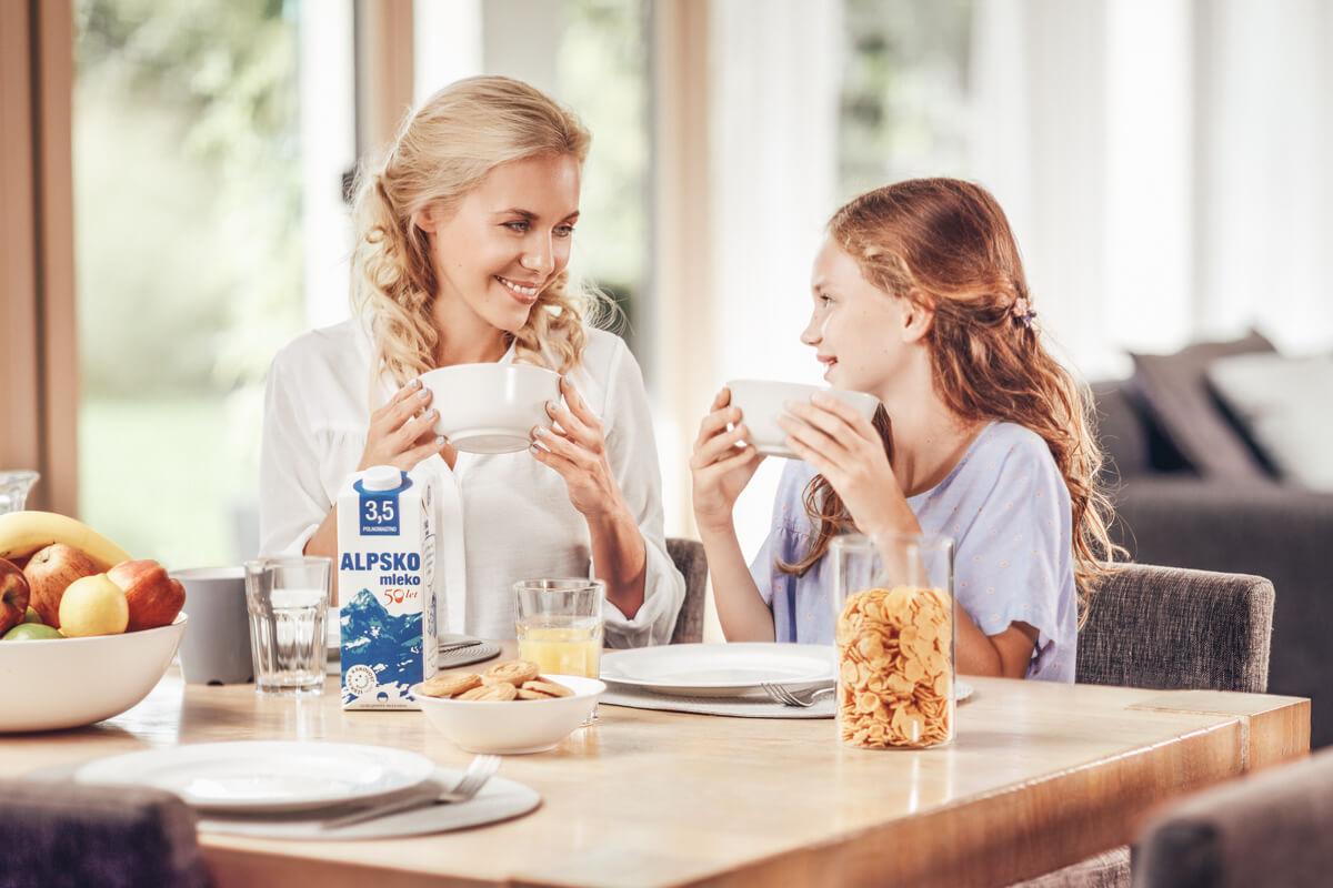Alpsko mleko iz generacije v generacijo